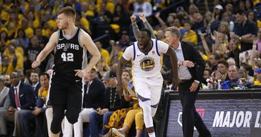 Myers declines to say whether Warriors reached out to league regarding Draymond's flagrant