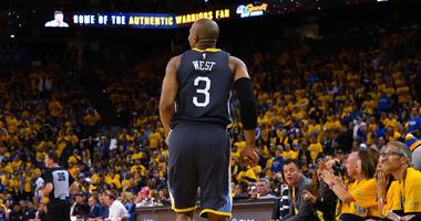 Kerr hopes to have David West available for Game 3, expects update Wednesday
