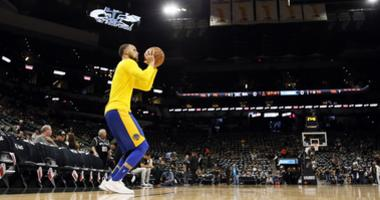 Spears discusses whether Curry will be ready in time for Western Conference semifinals