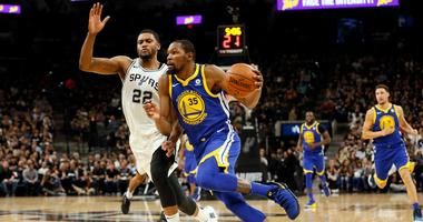 Durant on ankle roll: 'It's cool, I'm good'