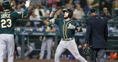 Lowrie puts himself on track for 1st All-Star nod with monster start