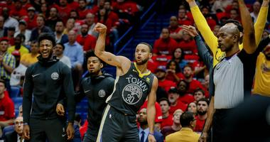 95.7 The Game hosts offer their Warriors-Rockets predictions