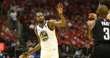 Papa calls Durant 'the best player on the planet' after Game 1 masterclass