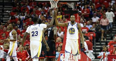 Barkley on his Draymond beef, the greatness of Splash Bros and Durant and the 'mentally fragile' Rockets