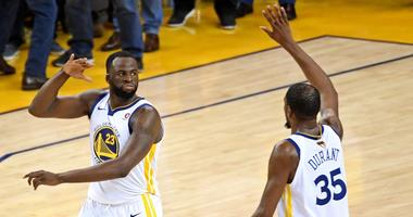 Report: Draymond 'challenged' KD about his looming free agency during Monday night's dispute