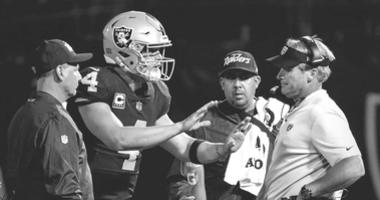 David Carr says Derek thinks there's 'no chance' Gruden trades him