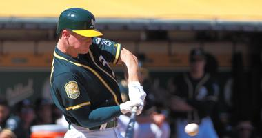 A's obliterate Angels in 21-3 win