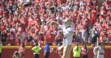 The 49ers Fall to 1-2, but bigger problems loom without Jimmy Garoppolo