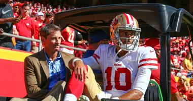 Report: 49ers fear Jimmy G has a torn ACL