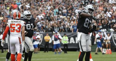 Jared Cook on the Coliseum boos: 'If you're riding with us, ride with us'