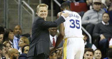 Kerr joins Damon, talks about all the noise surrounding Durant's Free Agency