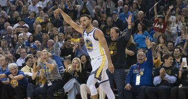 Warriors take care of the Westbrook-less Thunder on ring night