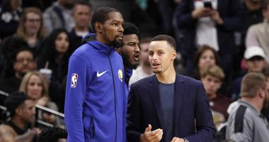 Steph 'feeling a lot better' but won't play for Warriors over Thanksgiving weekend