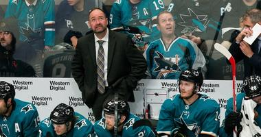 Playoff picture looking grim for struggling Sharks