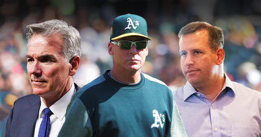 A's announce long-term extensions for Billy Beane, David Forst and Bob Melvin