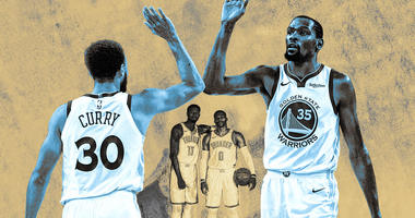 Warriors to host OKC for ring night at 7:30 pm on 95.7 The Game