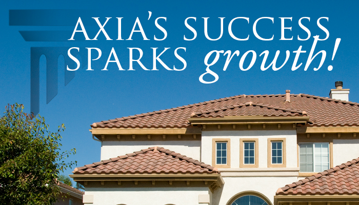 Axia's Success Sparks Growth