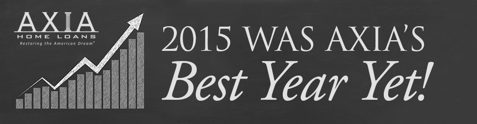 2015 Was Axia's Best Year Yet!
