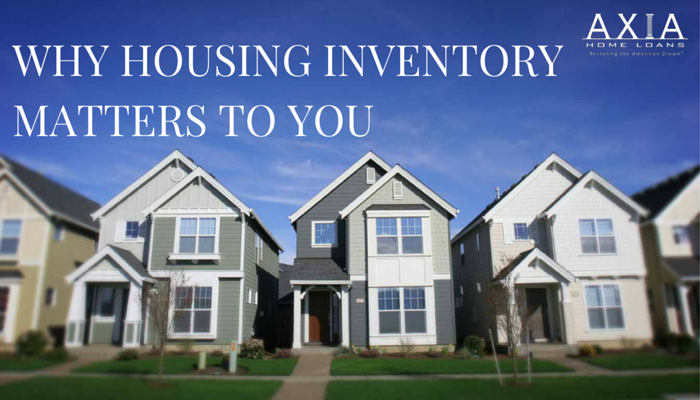 Why Housing Inventory Matters to You