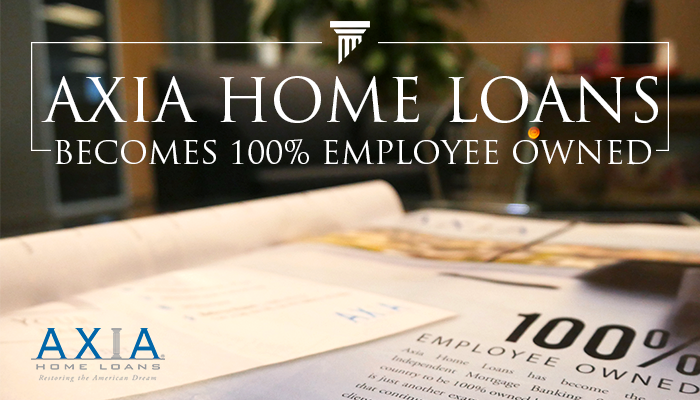 Axia Becomes 100% Employee Owned!