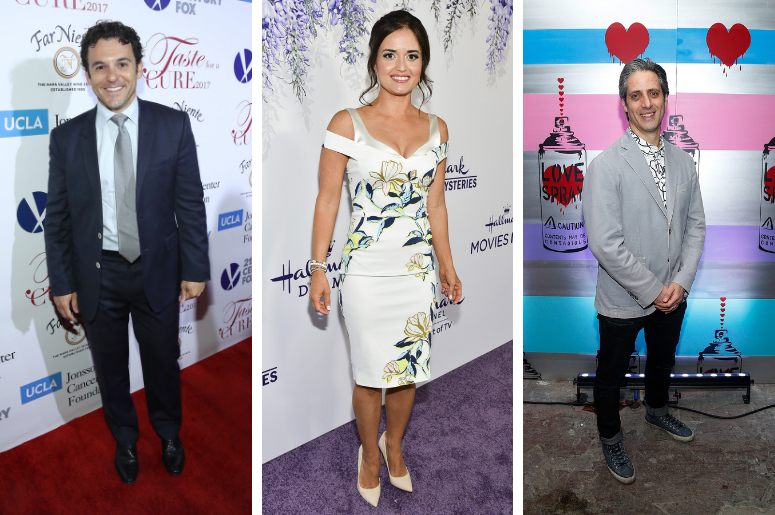 Fred Savage, Danica McKellar and Josh Saviano