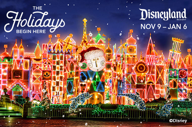 charlie wants to send you to disneyland resort for the holidays
