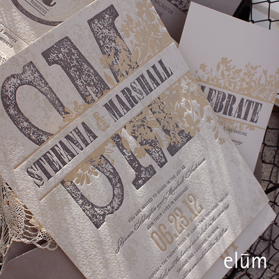 Elum Couture Invitations