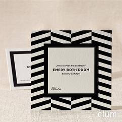 Fifth Avenue Reception Card