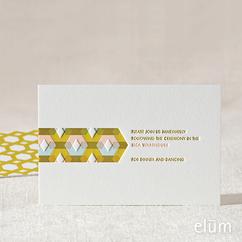 Melange Reception Card