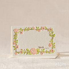 Parfume Escort Card