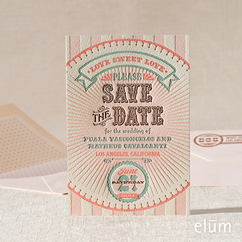 Sweet Shoppe Save the Date