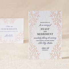 Versailles Reception Card