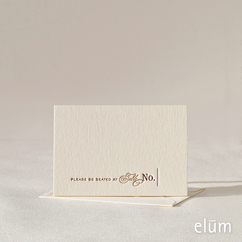 Reserve Escort Card