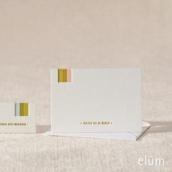 Melange Escort Card