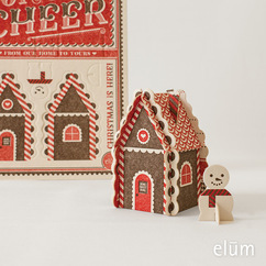 Pop-Out Gingerbread House