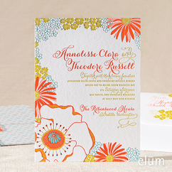 Poppies & Posies Invitation
