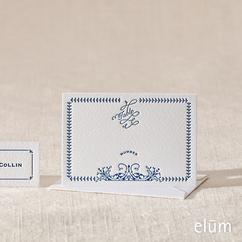 Creamery Escort Card