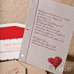 Love Note Invitation