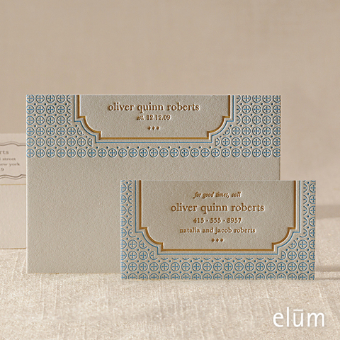Cookie Social Note with Playdate Card (for him)