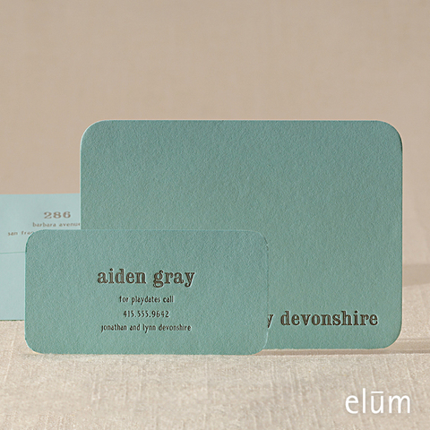Creamsicles Social Note with Playdate Card (for him)
