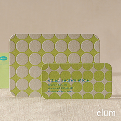 Polka Dots Social Note with Playdate Card (green)