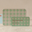 Polka Dots Social Note with Playdate Card (blue)