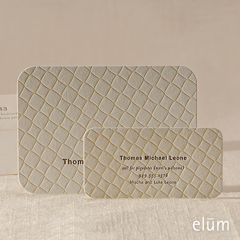 Quilted Blankies Social Note with Playdate Card (for him)
