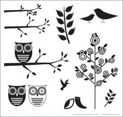 BIRDS & BRANCHES 1