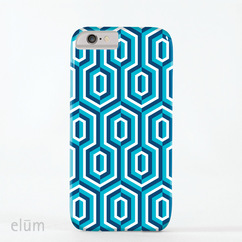3D Hex Blue (B)