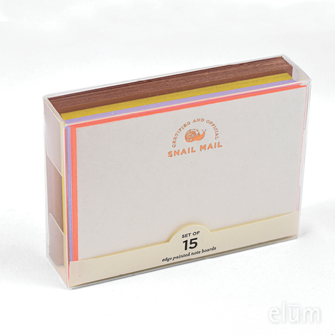 Certified Snail Mail Note Boards