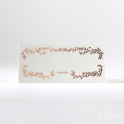 Filigree Escort Cards