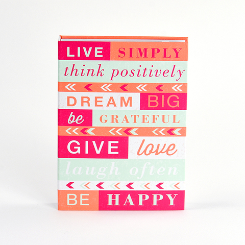 Umi Daily Inspiration Hardcover Sticky Notes