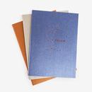 3 Pack Paper Constellation Journals