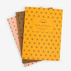 3 Pack Paper Handy Notebooks